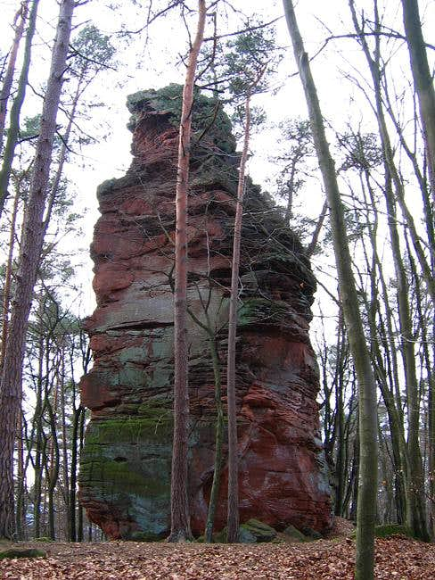 Römerstein to the north-east...