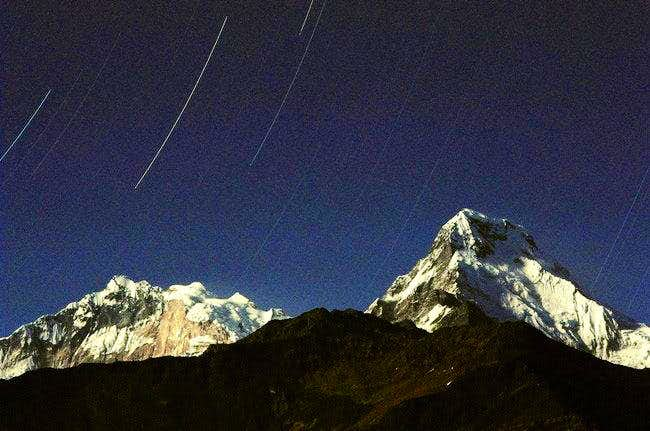 Annapurna South and the