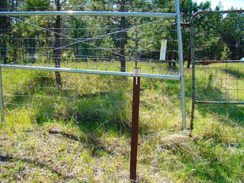 Western Boundary Fence