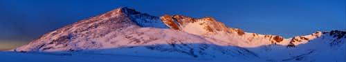 Sunrise on Mt.Evans