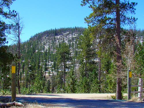 Odakota Mountain from Sixmile Road