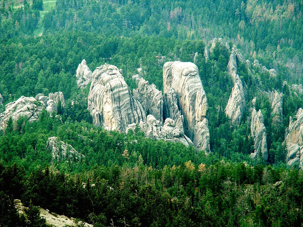Black Elk Peak area granite