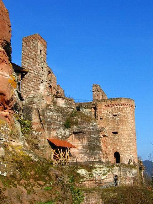 Altendahn Castle built on and...