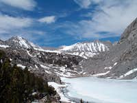 Upper Morgan Lake and Morgan Pass