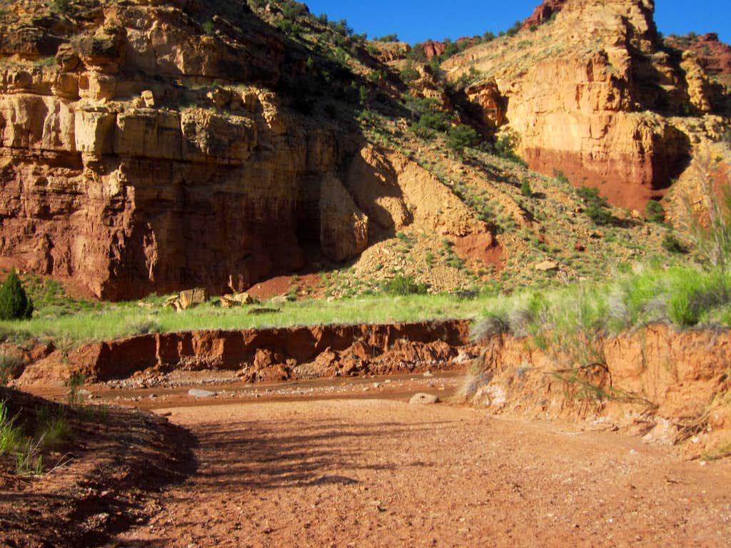Water of Sulphur Creek