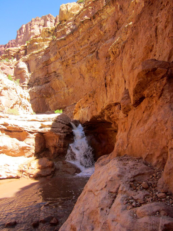 Sulphur Creek - 2nd Fall