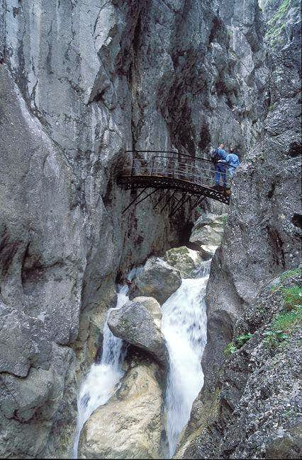 Hoellental canyon is at the...