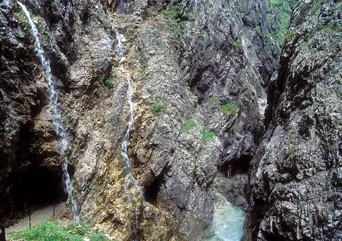 Hoellental canyon is a quite...
