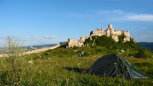 Medieval scenery