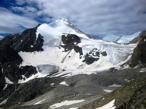 Brunegghorn north face
