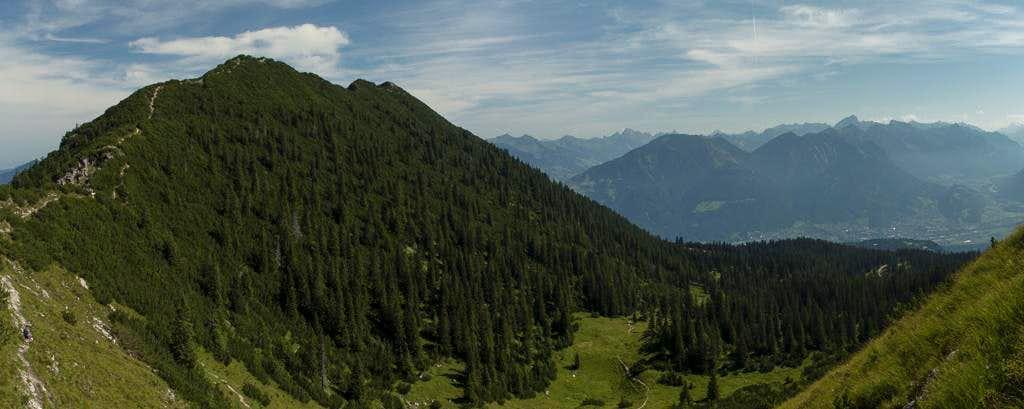 The Mondspitze south-west ridge