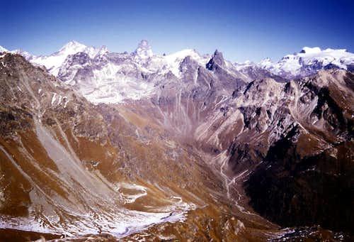 Upper St. Barthélemy Valley with Praterier Alp 1986
