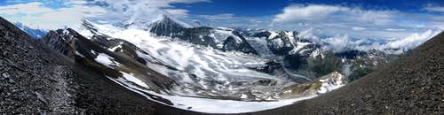 Panoramic view of Bishorn