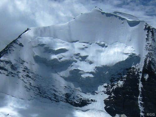 Seracs on the Bishorn NE face