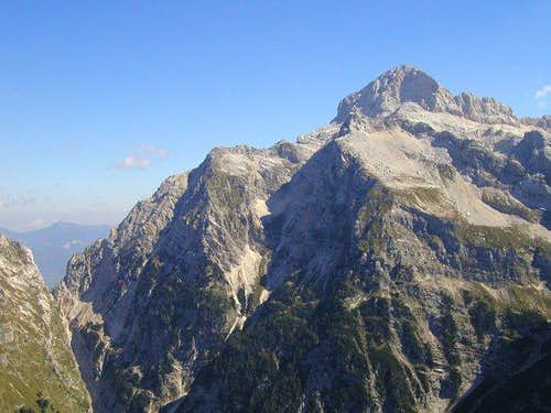 View on the highest slovenian...