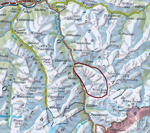 Sulztal Overview Map