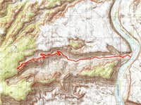 Long Canyon Map