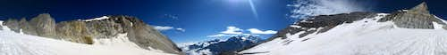 360° panorama from the Schölligletscher