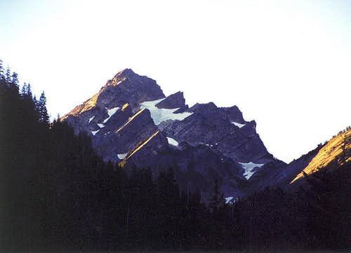 Del Campo Peak as seen from...