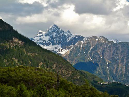 View to Wildgrat, 2974 m
