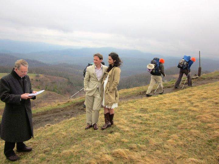 Wedding on Max Patch