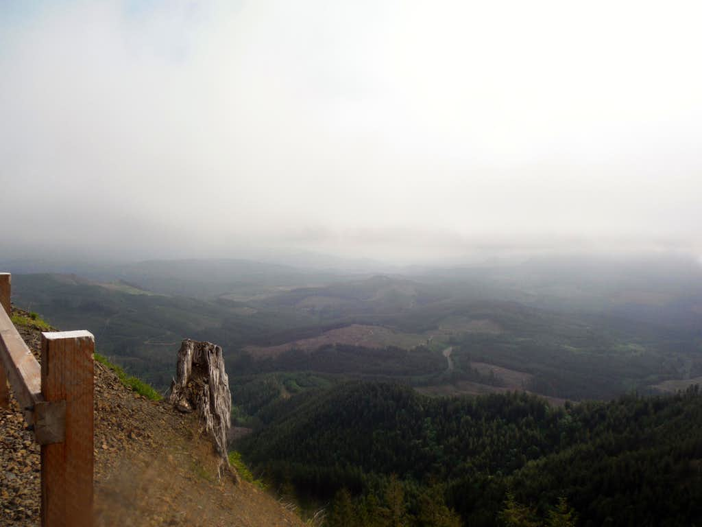 Looking southeast from the summit
