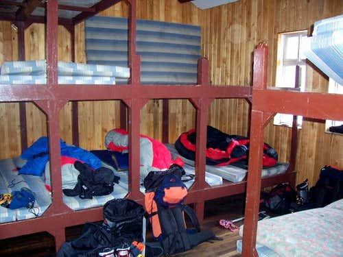 Bunks on the 3rd floor of the...