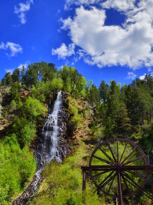 Bridal Falls, Idaho Springs