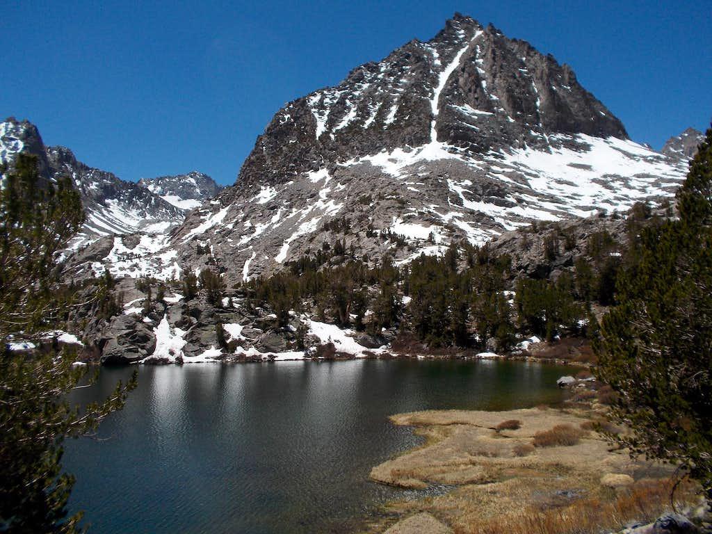 Two Eagle Peak and Sixth Lake