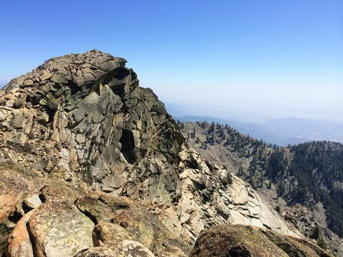 Moses Mountain, N of Summit
