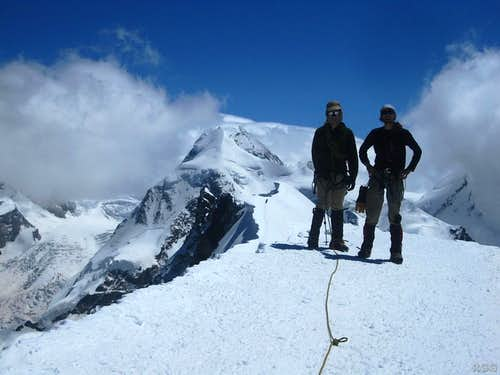On top of Breithorn
