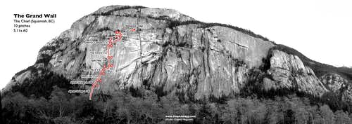 The Grand Wall, The Chief (Squamish, BC)