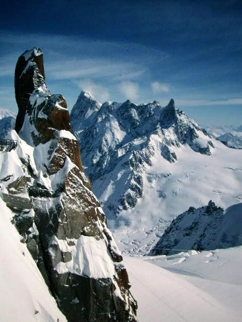Taken from Aiguille du Midi,...