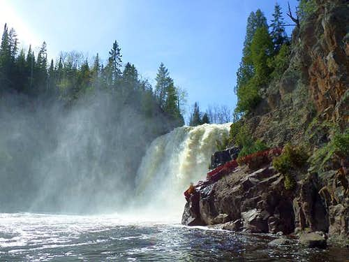 High Falls of Baptism River