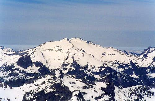 Mt. Daniel as seen from the...