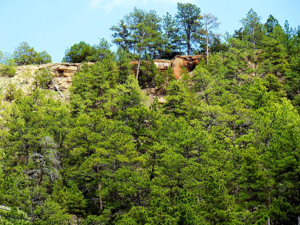 Matias Peak Red Canyon Rim