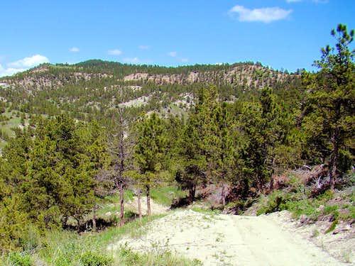 Red Canyon View of Matias Peak