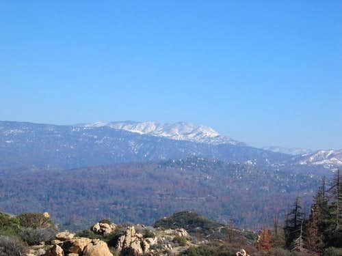 San Bernardino Peak from the...