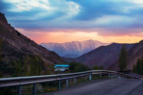 Sunset - Tochal north