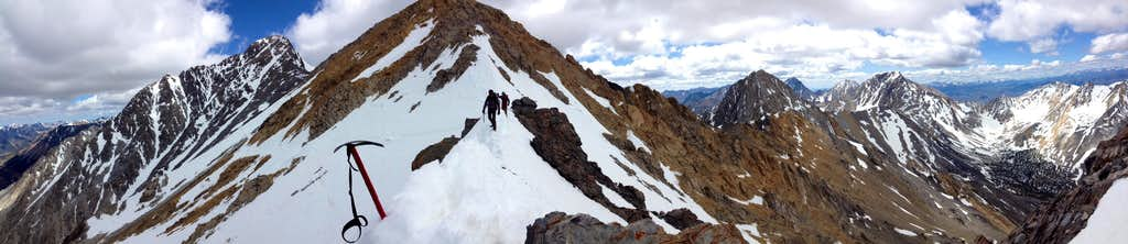 Chickenout Ridge Pano