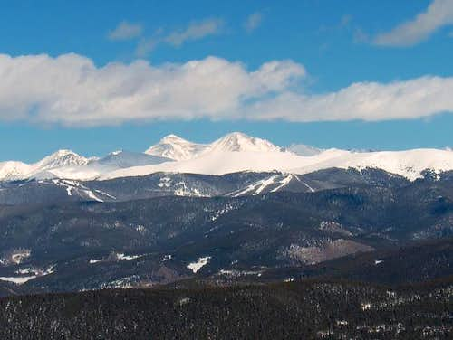 Torreys Peak and Grays Peak...