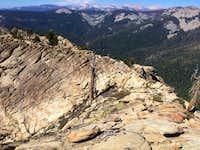 View of ridge N. of Summit