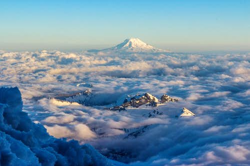 Mt. Adams from Muir