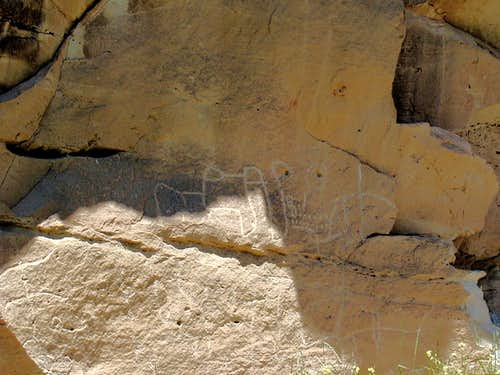 Red Canyon Petroglyph