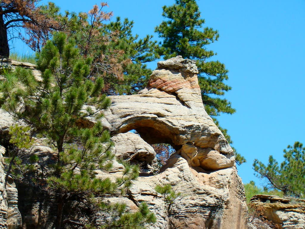 Red Canyon Rock Formation