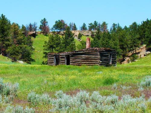 Old Homestead in Red Canyon