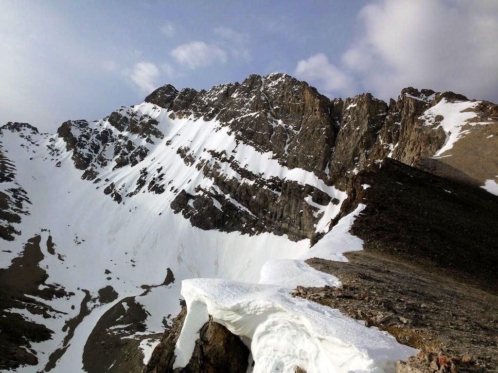 North Face of Mt Borah