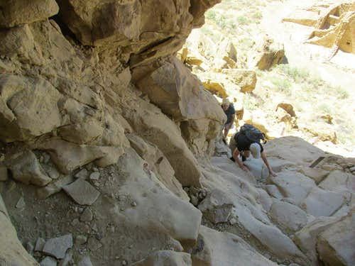 Chaco Canyon:  Pueblo Alto Trail