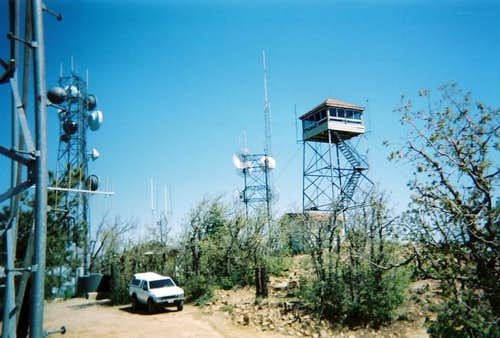 The Lookout Tower on the...