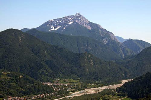 Monte Amariana from St. Peter's church